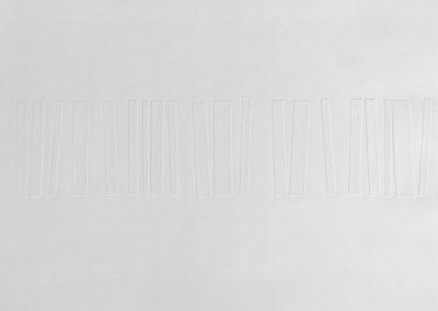 Gravure-relief, 2015, papier gravure, 21″x28″