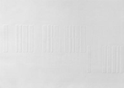 """Engraving, 2015, etching paper, 21""""x28"""""""