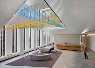 Maquette 5 intégration à l'architecture, 2019, montage graphique